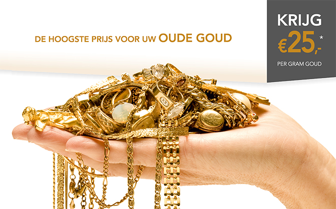 Oud goud Actie